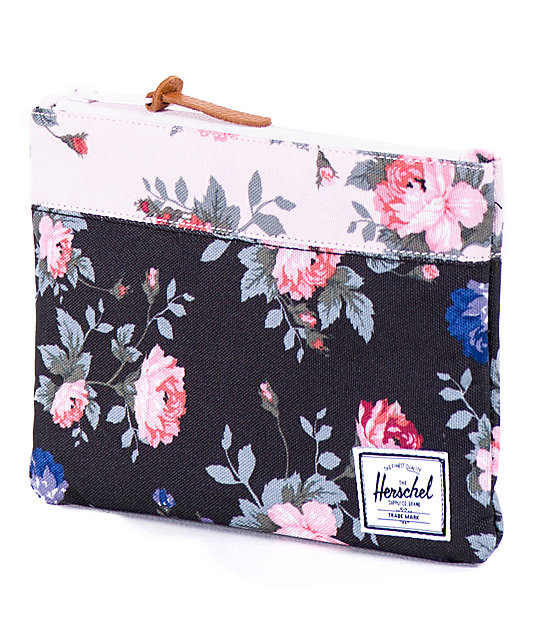 Herschel Supply Co. Floral Field Pouch