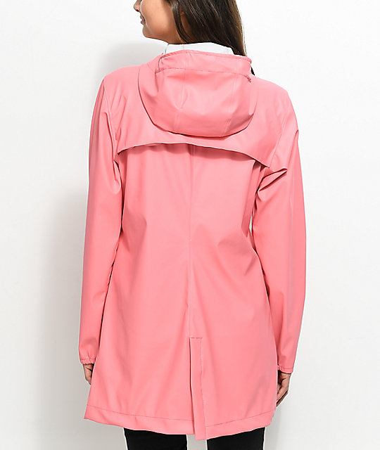 Herschel Supply Co. Forecast Strawberry Ice Parka Rain Jacket