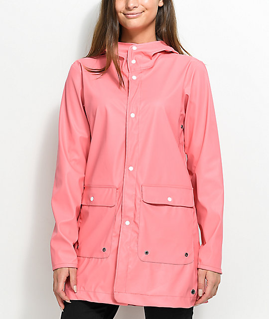 Herschel Supply Co. Forecast Strawberry Ice Parka Rain Jacket | Zumiez