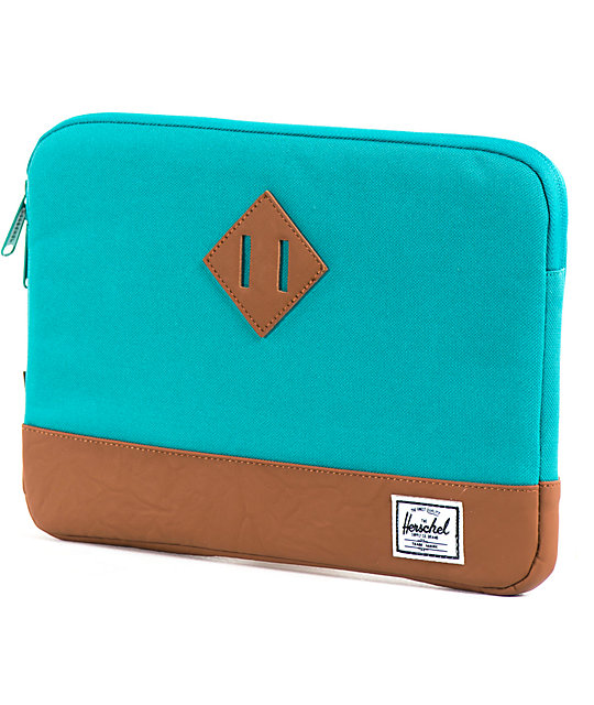 Herschel Supply Co. Heritage Aqua Laptop Sleeve