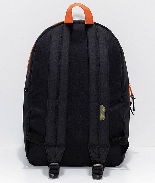 Herschel Supply Co. Heritage Black & Woodland Camo 21.5L Backpack