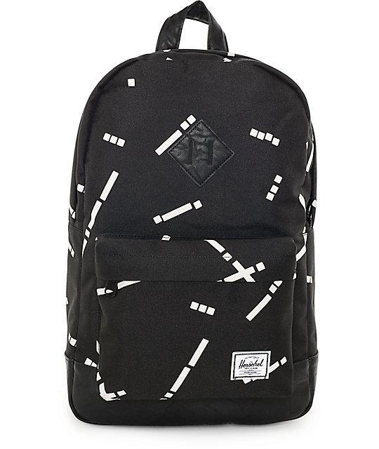 Herschel Supply Co. Heritage Black Code 21.5L Backpack
