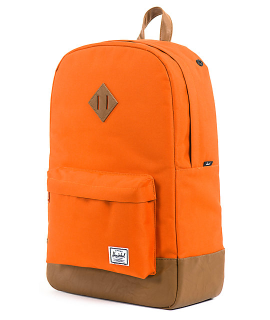 Herschel Supply Co. Heritage Camper Orange Backpack