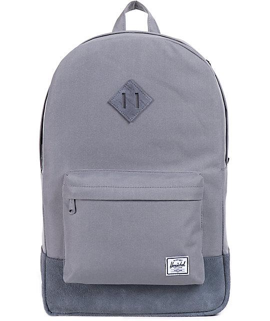 ea293abcd8ef Leather Herschel Backpack