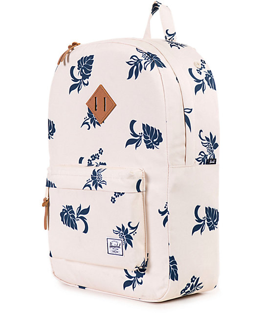 Herschel Supply Co. Heritage Mid Tropical Floral Print 14.5L Backpack