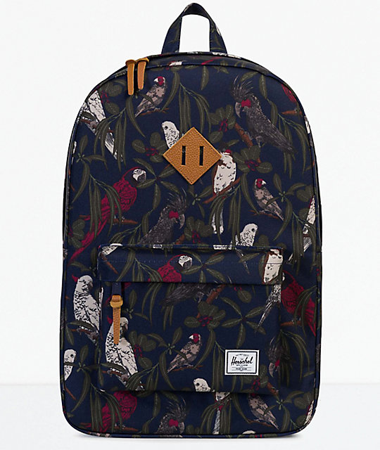 Herschel Supply Co. Heritage Peacoat Parlour 21.5L Backpack