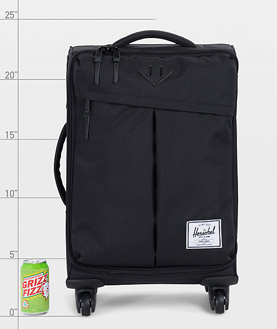 Herschel Supply Co. Highland Black Roller Bag
