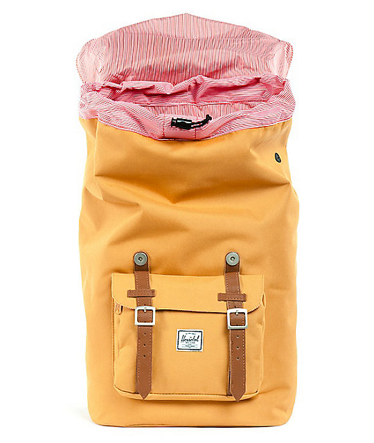 Herschel Supply Co. Little America Butterscotch Backpack