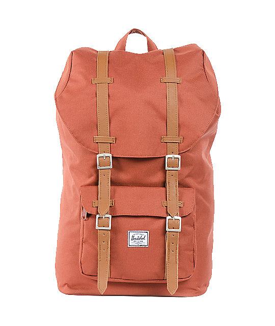 Herschel Supply Co. Little America Rust Orange Backpack