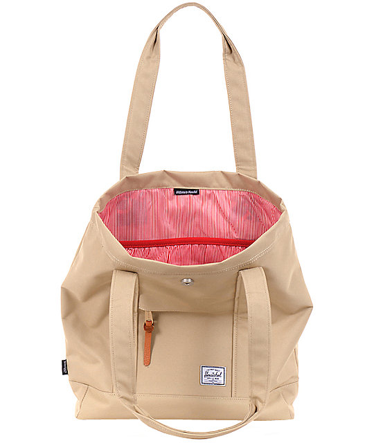 Herschel Supply Co. Market Khaki Tote Bag