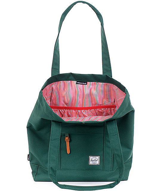 Herschel Supply Co. Market Moss Green Tote Bag