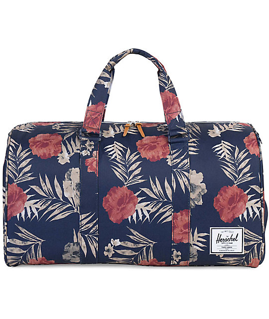 Herschel Supply Co. Novel Peacoat Floria Duffle Bag