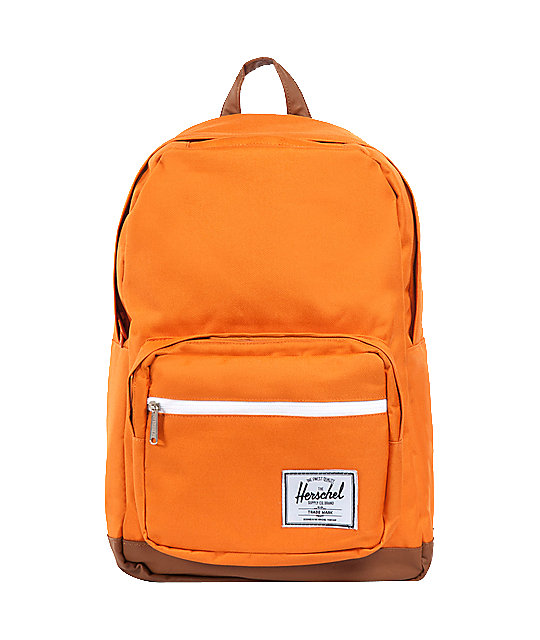 Herschel Supply Co. Pop Quiz Orange Backpack