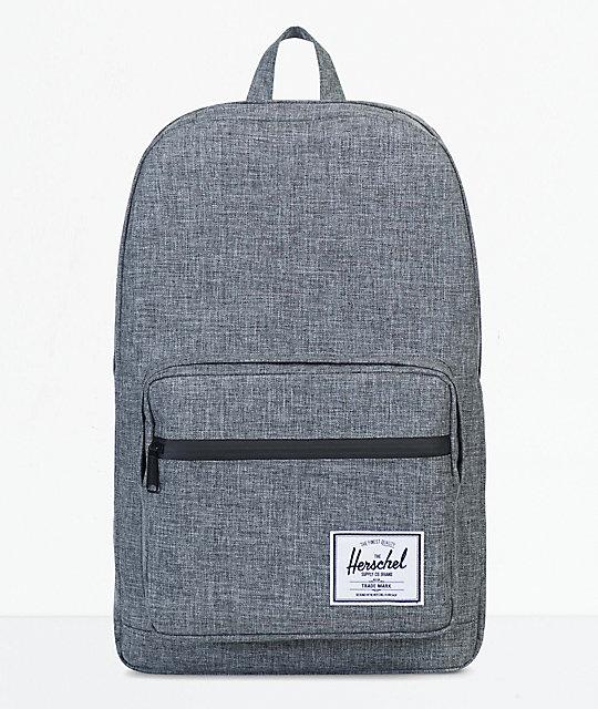 Herschel Supply Co. Pop Quiz Raven Crosshatch 22 L Backpack by Herschel Supply