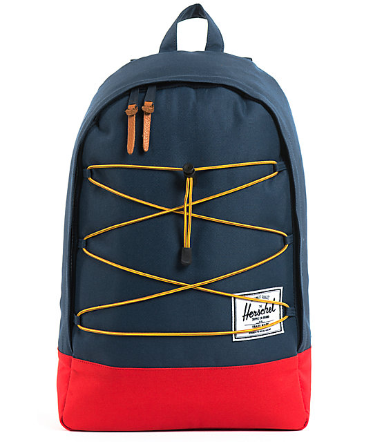 Herschel Supply Co. Quarry Navy & Red Backpack