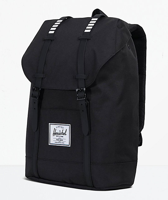 Herschel Supply Co. Retreat Black & White 19.5L Backpack