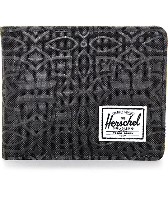 Herschel Supply Co. Roy Black Khatan Bifold Wallet
