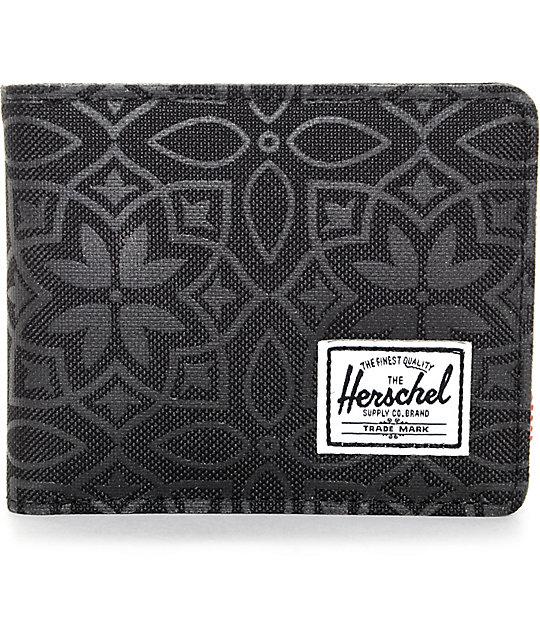 Herschel Supply Co. Roy Black Khatan Bifold Wallet