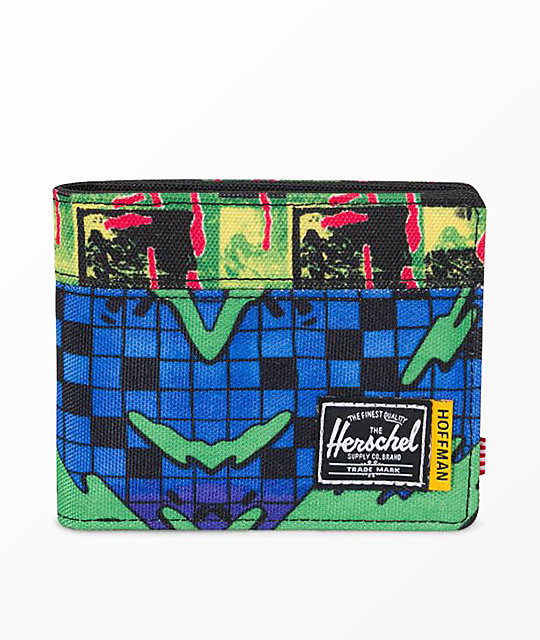 Herschel Supply Co. Roy Hoffman Check Surf Bifold Wallet by Herschel Supply