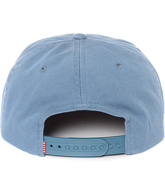 Herschel Supply Co. Scope Washed Pale Indigo Snapback Hat