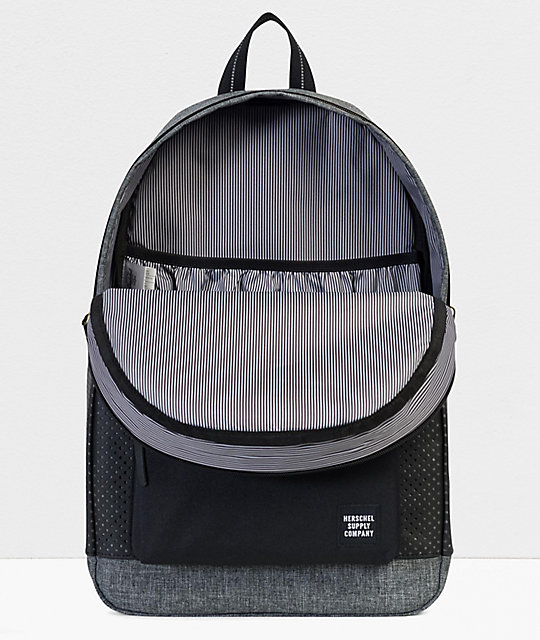 Herschel Supply Co. Settlement Aspect Raven Crosshatch Backpack