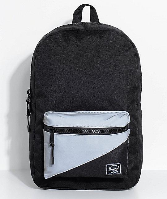Herschel Supply Co Settlement Backpack: Herschel Supply Co. Settlement Black Reflective 17L