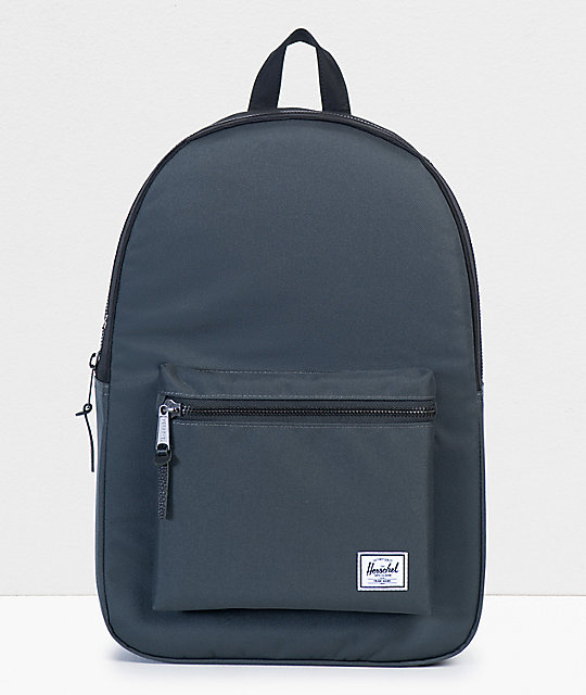 Herschel Supply Co. Settlement Dark Shadow & Black Backpack by Herschel Supply