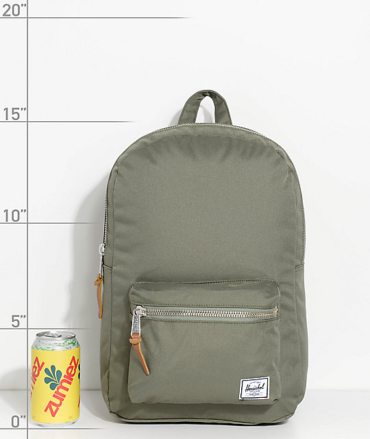 Herschel Supply Co. Settlement Lichen Green 17L Backpack