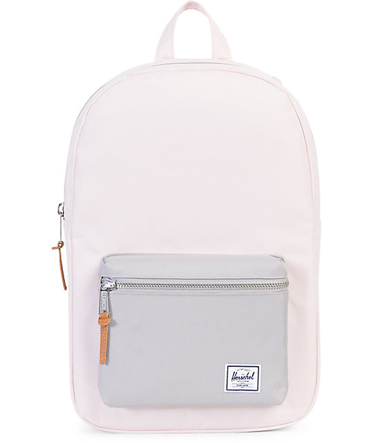 Herschel Supply Co Settlement Mid Cloud Pink Amp Grey 17l