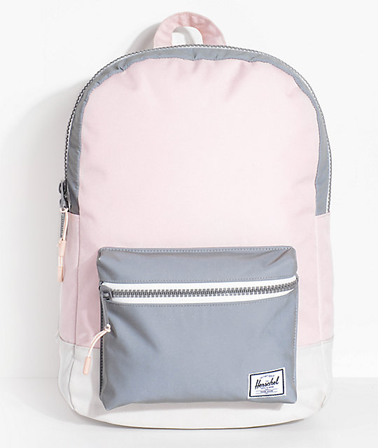 Herschel Supply Co. Settlement Mid Cloud Pink Reflective 17L Backpack