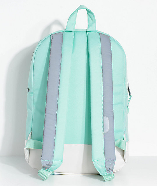 Herschel Supply Co. Settlement Mid Lucite Green Reflective 17L Backpack