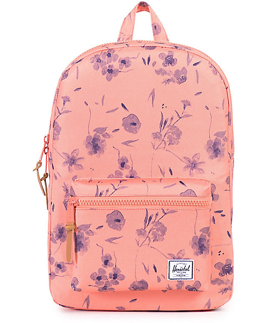 Herschel Supply Co. Settlement Mid Ruby Coral 17L Backpack