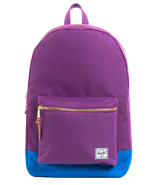 Herschel Supply Co. Settlement Purple & Teal Backpack