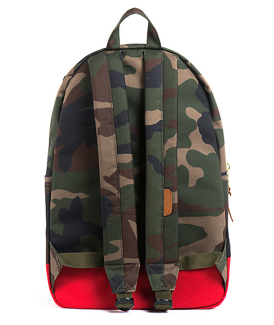 Herschel Supply Co. Settlement Woodland Camo & Navy Backpack