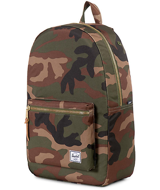 Herschel Supply Co. Settlement Woodland Camo Backpack