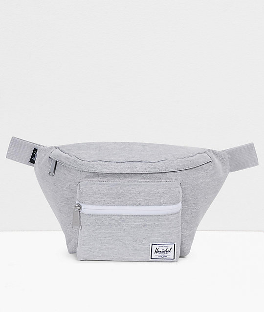 Herschel Supply Co. Seventeen Light Grey Crosshatch Fanny Pack by Herschel Supply