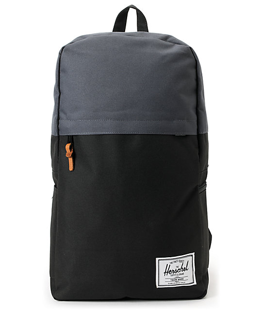 Herschel Supply Co. Varsity Black & Charcoal Backpack