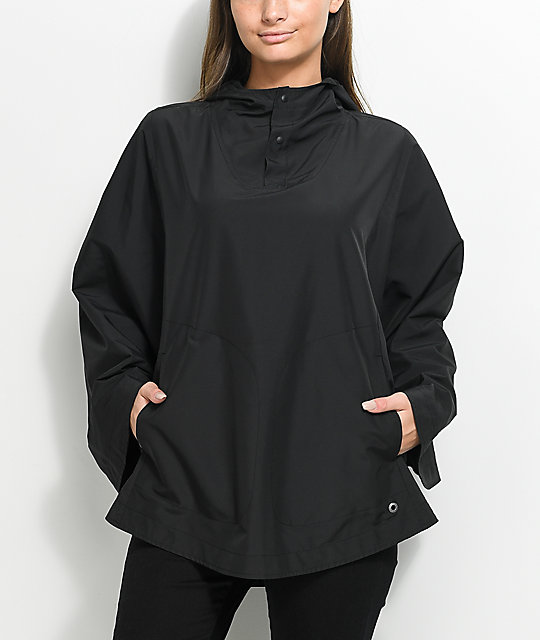 Herschel Supply Co. Voyage Black Poncho
