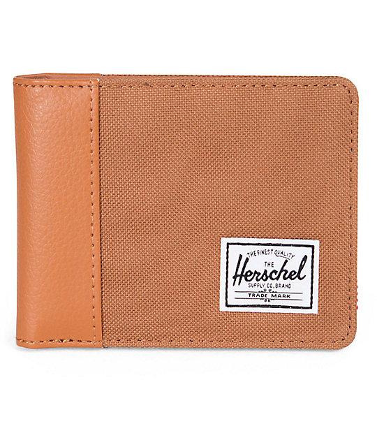 Herschel Supply Edward Carmel & Tan Bifold Wallet