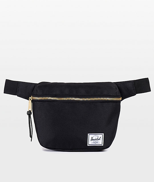 Herschel Supply Fifteen Black 1.25L Fanny Pack at Zumiez : PDP
