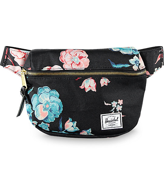 Herschel Supply Fifteen Floral 1.25L Fanny Pack
