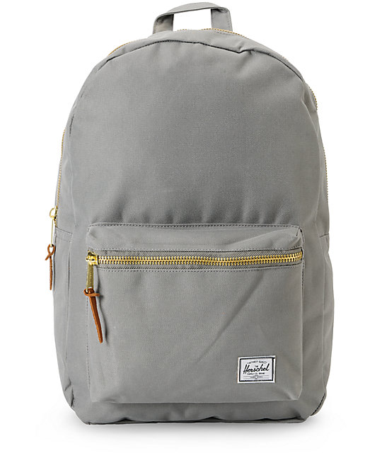 Herschel Supply Grey Settlement Backpack