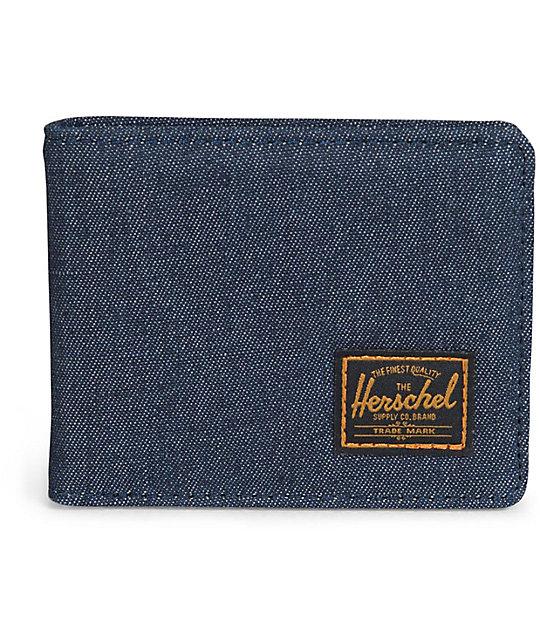 Herschel Supply Hank Dark Denim Bifold Wallet
