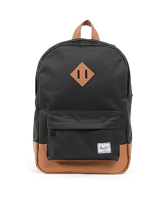 Herschel Supply Heritage Black 11L Mid-Volume Backpack