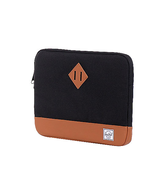 Herschel Supply Heritage Black 13 Laptop Sleeve
