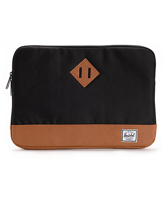 Herschel Supply Heritage Black 13 Laptop Sleeve