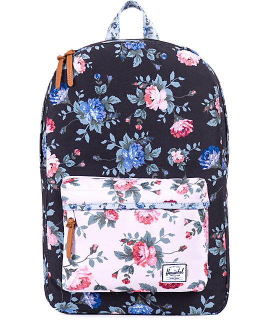 Herschel Supply Heritage Floral Print 11l Backpack At