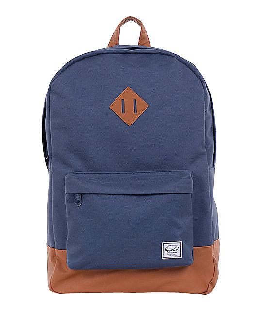Herschel Supply Heritage Navy 11L Mid-Volume Backpack