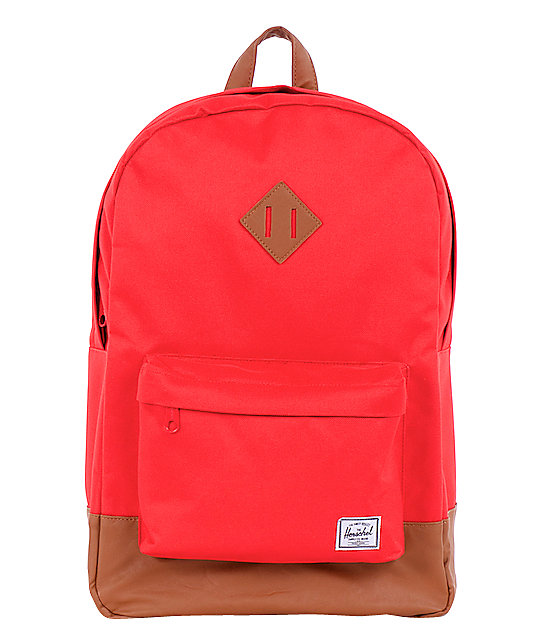 Herschel Supply Heritage Red 11L Mid-Volume Backpack