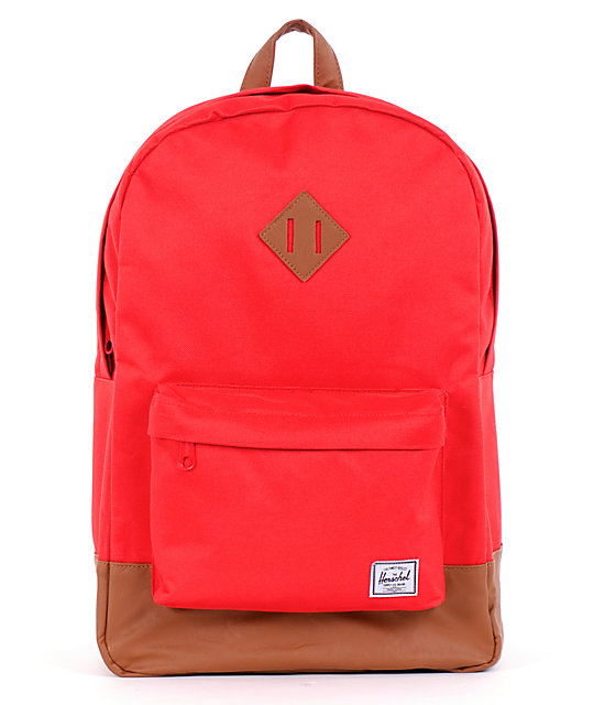 Herschel Supply Heritage Red 21L Backpack